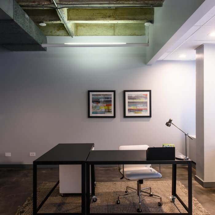 Suite 112 Creative move-in ready spec suite in Downtown Oak Park, IL
