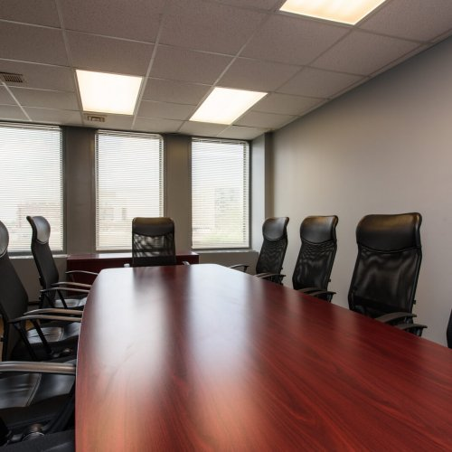 Conference room amenity at 1010 Lake Street, Oak Park, IL office space for lease