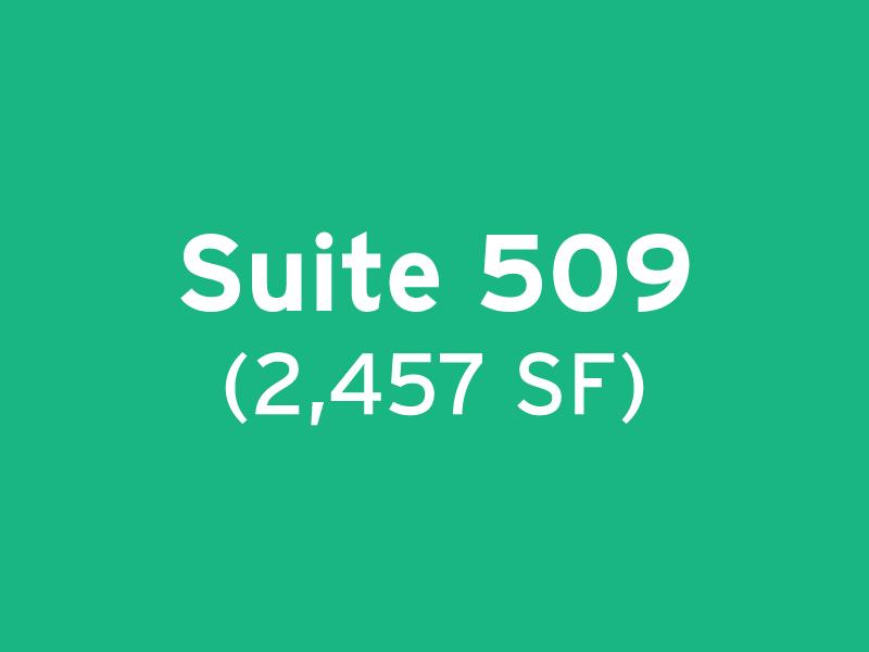 Suite 509 (2,457 SF)