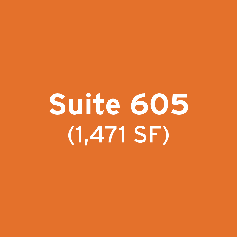 Suite 605 (1,471 SF)