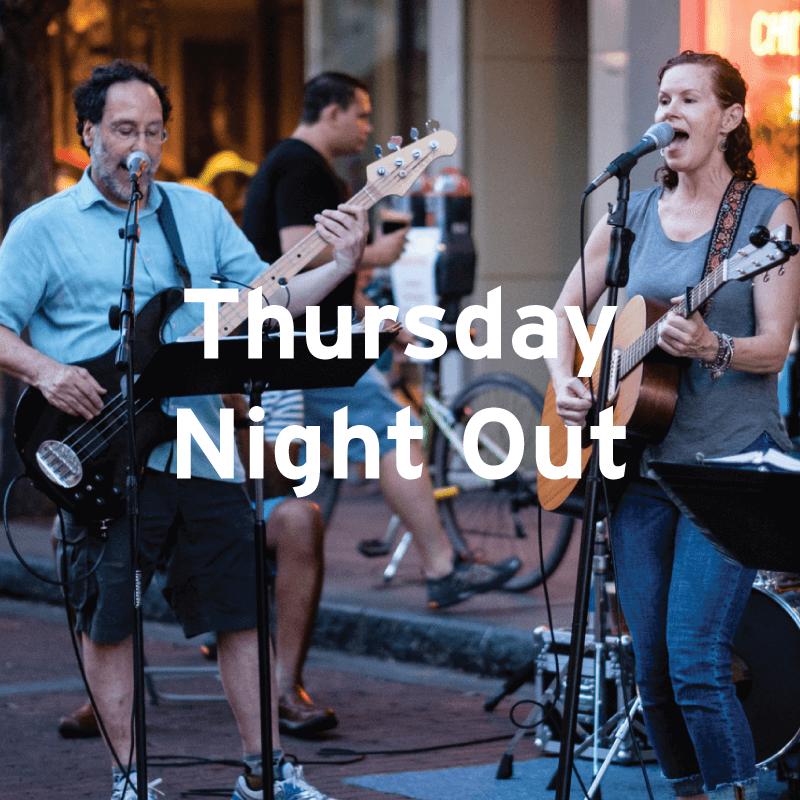 Thursday Night Out, Downtown Oak Park IL