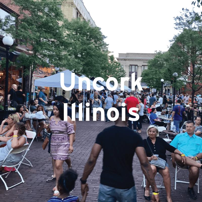 Uncork Illinois, Downtown Oak Park, IL